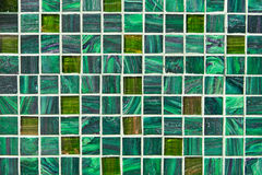 Green tiles Royalty Free Stock Photography