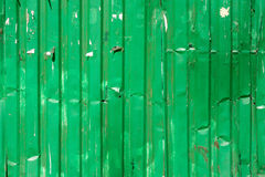 Green tin wall Royalty Free Stock Photos