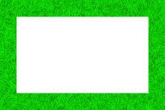 Green tinsel texture frame Royalty Free Stock Photos