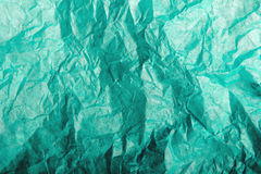 Green  tissue paper texture Stock Image
