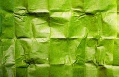 Green tissue paper texture Stock Photos