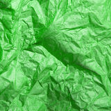 Green tissue paper texture for background Royalty Free Stock Photography