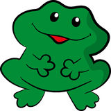 Green toad Stock Images