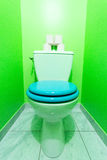 Green Toilet Royalty Free Stock Photography