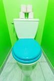 Green Toilet Royalty Free Stock Photos