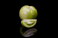 Green tomato Royalty Free Stock Photo