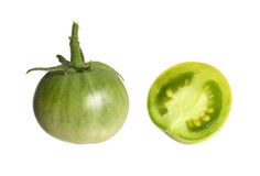 Green tomato. Royalty Free Stock Image