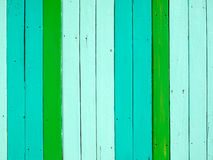 Green tone color painted on wood Royalty Free Stock Images