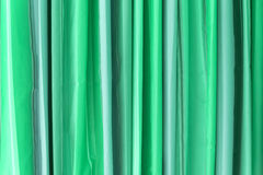 Green Tone Curtain Stock Photo