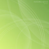 Green Tones Abstract Background. Abstract vector background in green tones Royalty Free Stock Images