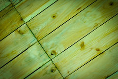 Green tones wood backgrounds,vintage image Royalty Free Stock Photography