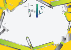 Green Tools set Stock Image