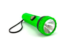 Green torch Royalty Free Stock Image
