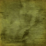 Green torn fabric Royalty Free Stock Images