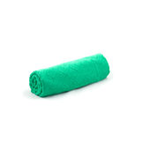 Green towel Stock Image