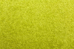 Green towel. The texture of a fluffy green towel Royalty Free Stock Images