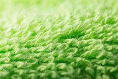 Green towel Royalty Free Stock Photos