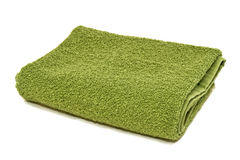 Green Towel Stock Photography