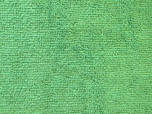 Green towel abstract Royalty Free Stock Image