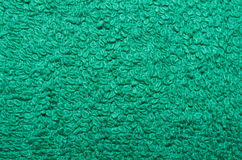 Green towel background Stock Images