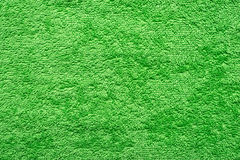Green Towel Background Stock Photography