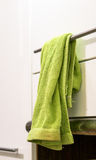Green towel Royalty Free Stock Photo