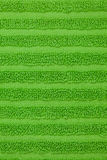 Green towel texture Royalty Free Stock Photos