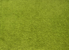 Green towel texture as background Royalty Free Stock Photography