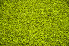 Green Towel texture. Green towel background Stock Photo