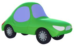 Green toy car Royalty Free Stock Photography