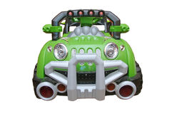 Green toy car Royalty Free Stock Image
