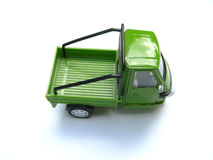 Green toy truck Royalty Free Stock Image