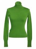 green tröjan royaltyfri fotografi