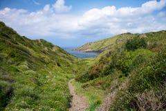 Green track at Menorca Stock Photography