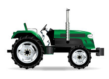 Green  Tractor Royalty Free Stock Image