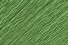 Green Traditional thai style nature background of brown handicraft weave texture wicker surface for furniture material.  Royalty Free Stock Images