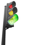 Green Traffic Light 1 Stock Image