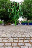 Green traffic light Stock Images
