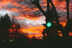 Green Traffic Light Royalty Free Stock Photography