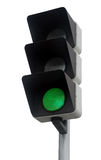 Green traffic light Royalty Free Stock Photos