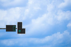 Green traffic light Royalty Free Stock Photos