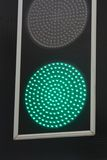 Green traffic light signal Royalty Free Stock Photo