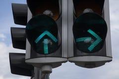 Green Traffic Lights Stock Photos