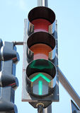 Green Traffic Signal Royalty Free Stock Images
