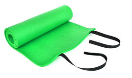 A green training mat Stock Photos