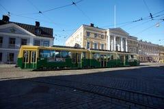Green tram Stock Image