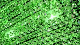 Green transparent glass line, Stock Image
