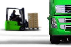 Green transport Royalty Free Stock Photography
