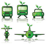 Green transportation Stock Photos