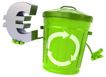 Green trash Royalty Free Stock Photo